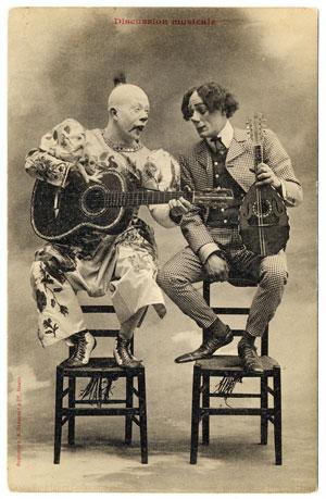 Bingo and Floggie - freaky clowns