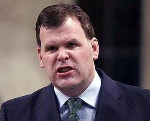 John Baird - Minister of Transport, Infrastructure and Biting the Legs of Protesters