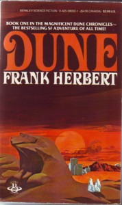cover art for 70s edition of Dune