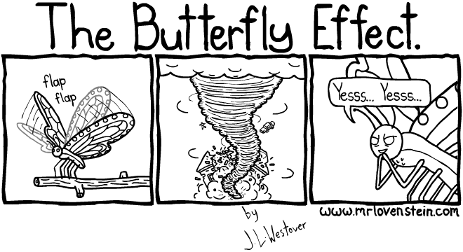 butterfly kills people
