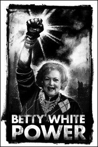 betty white power poster
