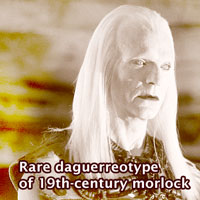 Rare dagguerreotype of morlock