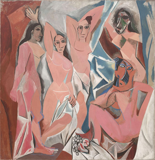 Picasso's Women from Five-Dimensional Space Prepare to Absorb The Artist's Essence