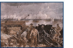 Battle of Vimy Ridge -- a painting by Richard Jack