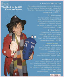 Dr. Who - Sears Wishbook