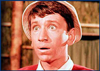 Gilligan looks surprised