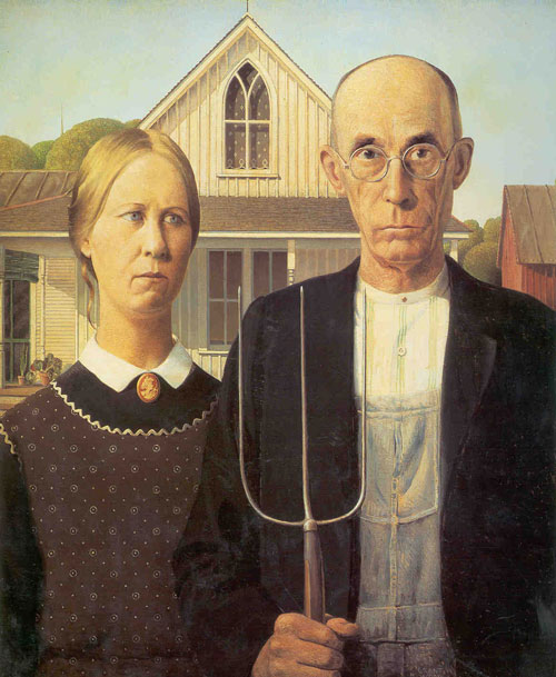 American Gothic -- the true story
