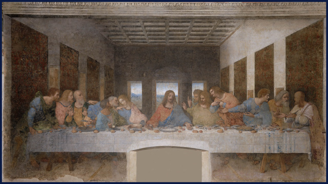 image of Da Vinci's The Last Supper