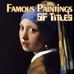 famous paintings with sf titles