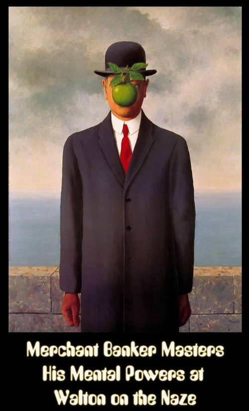 The Son of Man, by René Magritte