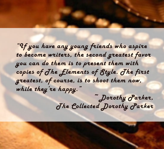 dorothy parker essay quote