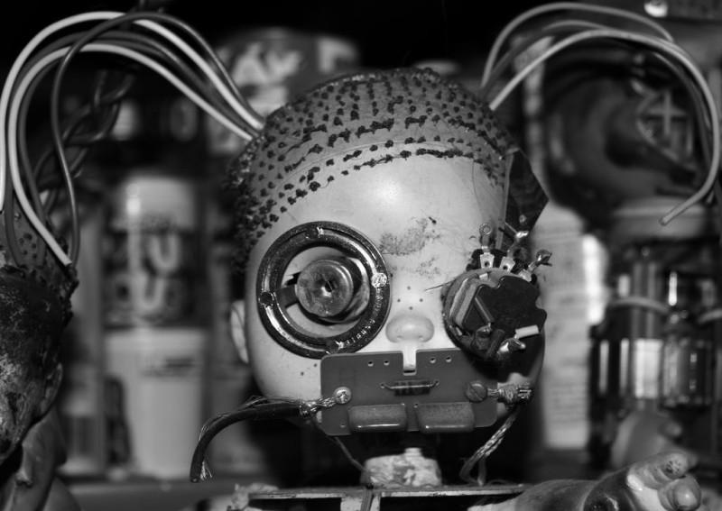 cyborg doll