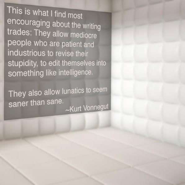 kurt vonnegut quote padded room