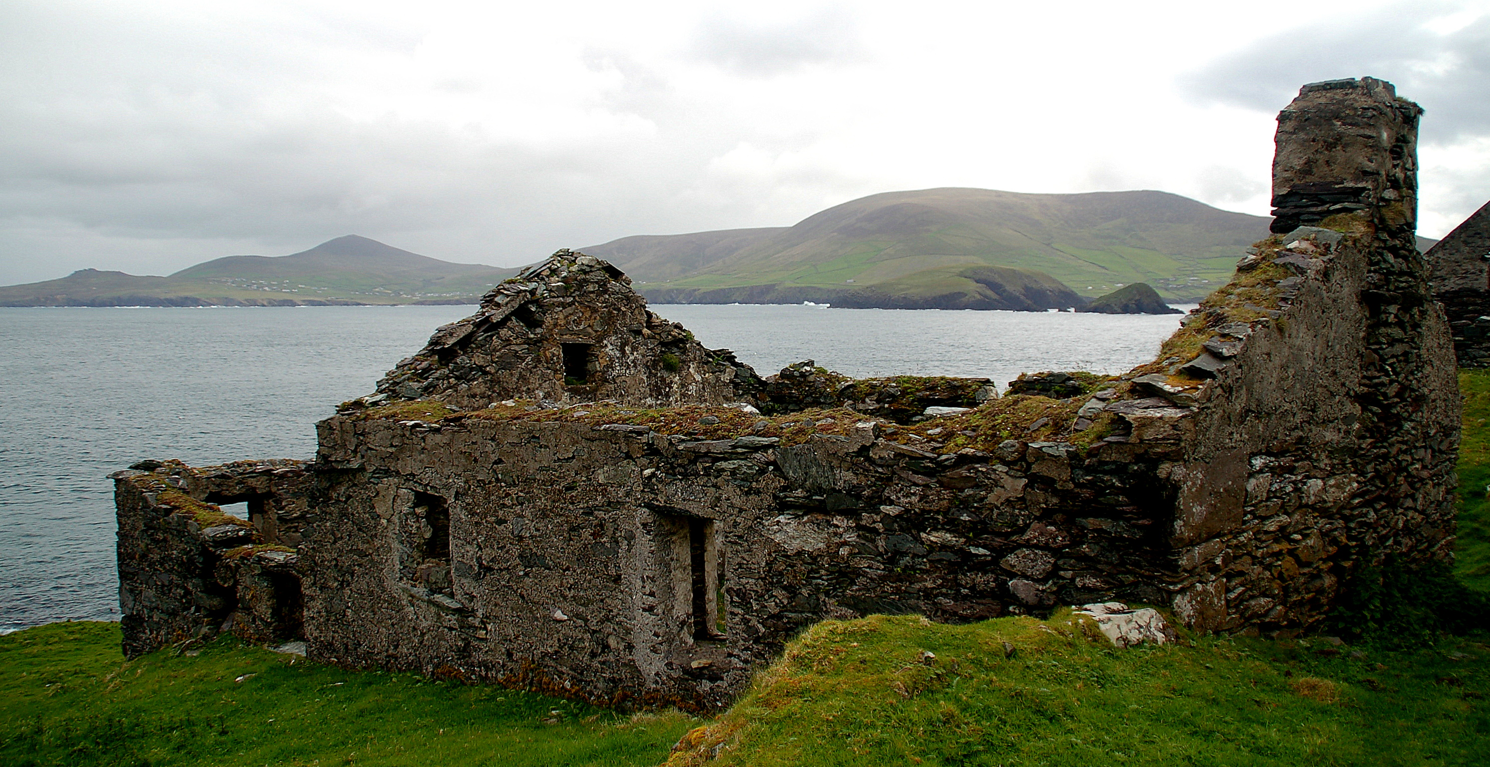 Cottage ruins, County Kerry, Ireland