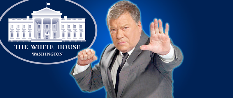 william shatner, president