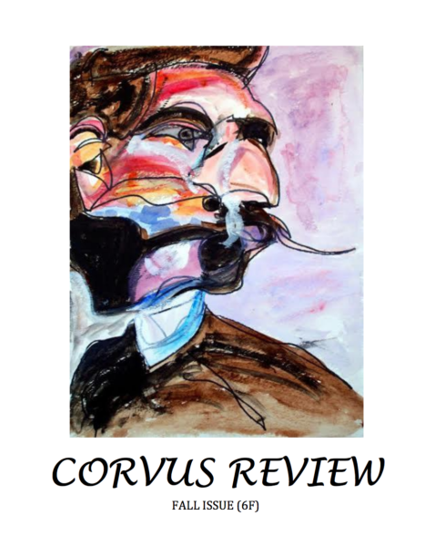 Cover for the Corvus Review, Fall 2016