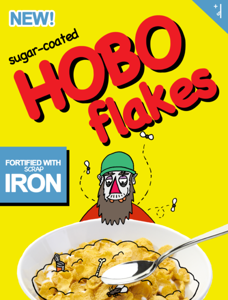 hobo flakes cereal